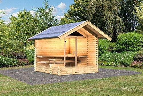 karibu saunahaus 2 38 mm inkl sauna und vorraum - Karibu Saunahaus 2 38 mm inkl. Sauna und Vorraum