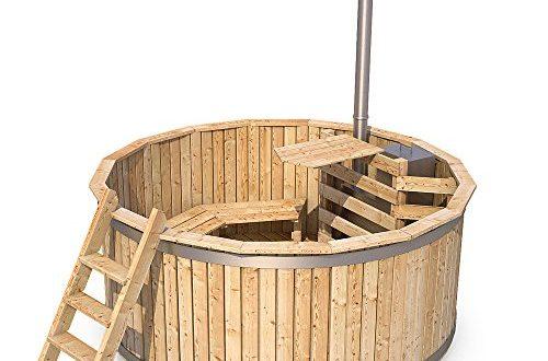 Badezuber Badefass Holz Badetonne 190 oder 240 cm 240 cm 500x330 - Badezuber Badefass Holz Badetonne 190 oder 240 cm (240 cm)